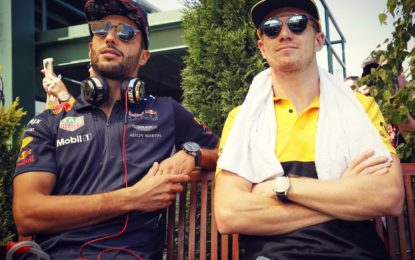 Hulkenberg: obiettivo battere Ricciardo
