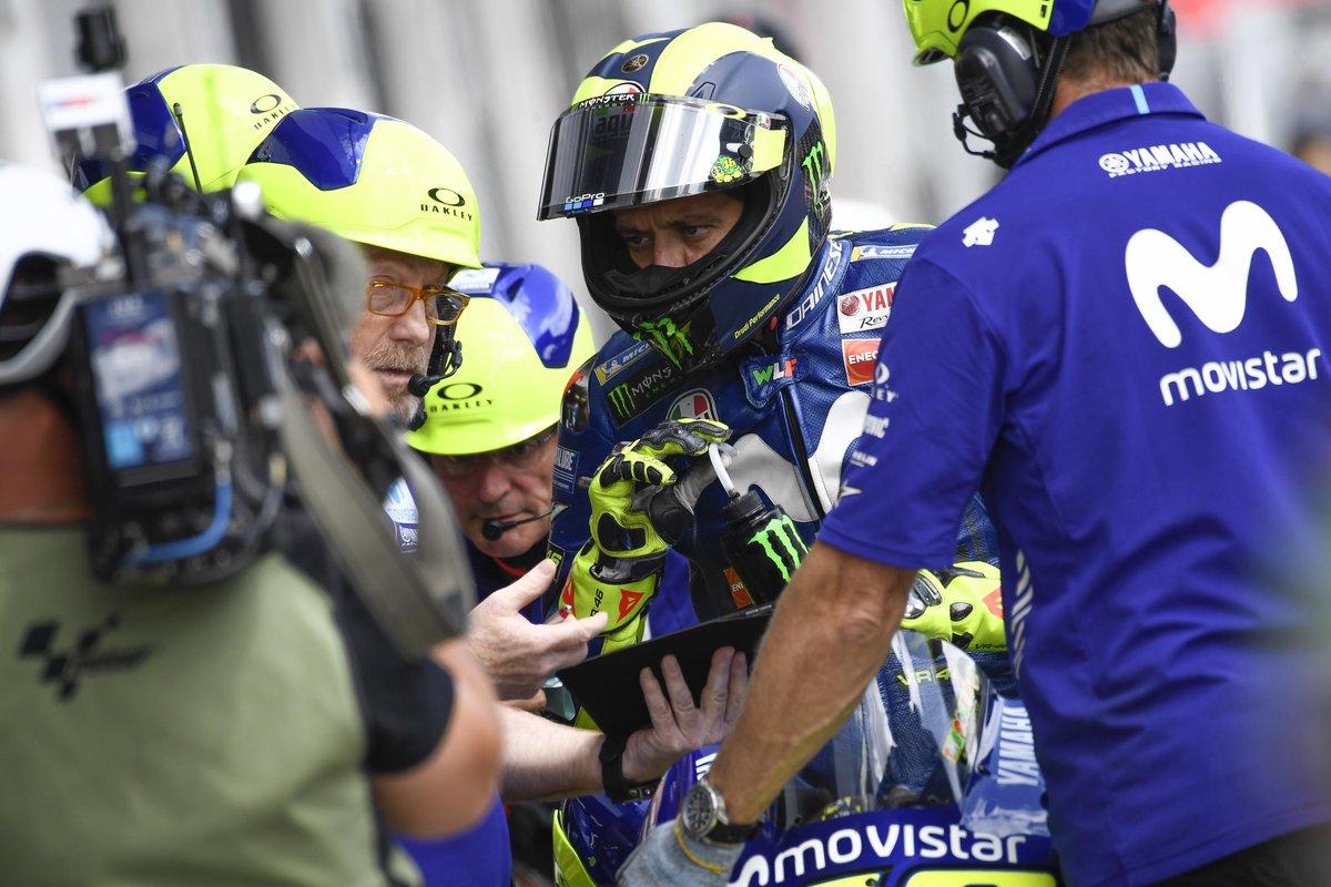 Rossi le canta chiare dopo le qualifiche in Austria