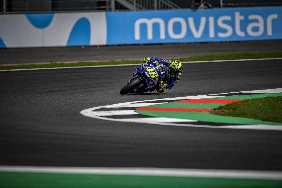 I rimpianti di Rossi nelle qualifiche di Silverstone