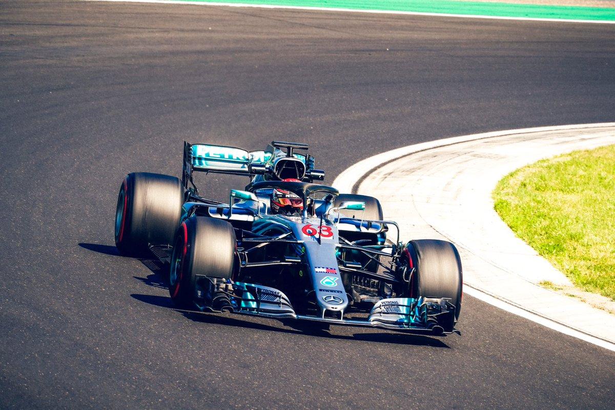 Conclusi i test in-season all'Hungaroring