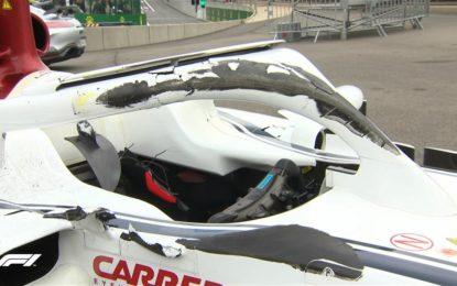 Senza Halo conseguenze peggiori per Leclerc