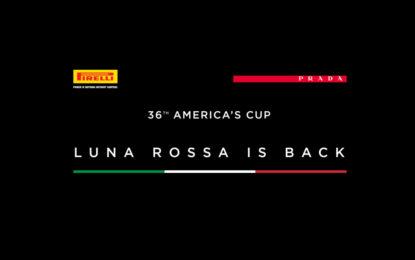 Pirelli e Prada per Luna Rossa all'America's Cup