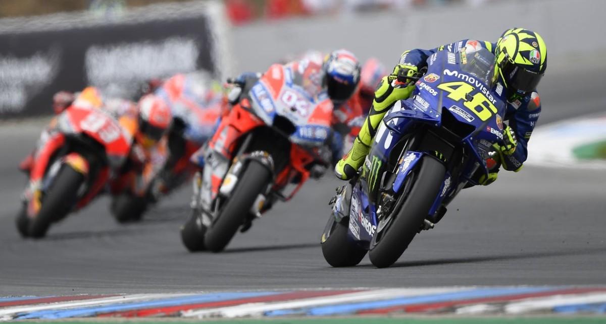 Rossi dà il massimo per il 4° posto a Brno, ma la Yamaha no