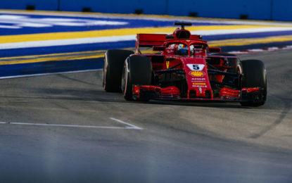 Singapore: Ferrari 3° e 5°, ma i piloti non sono preoccupati
