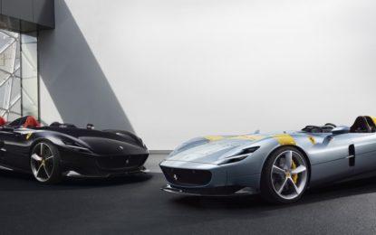 Nuove Ferrari Monza SP1 e SP2