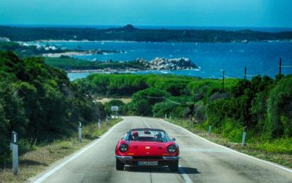 Cavalcade Classiche: il fascino Ferrari in Sardegna