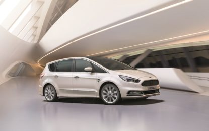 Ford rinnova i modelli S-MAX e Galaxy