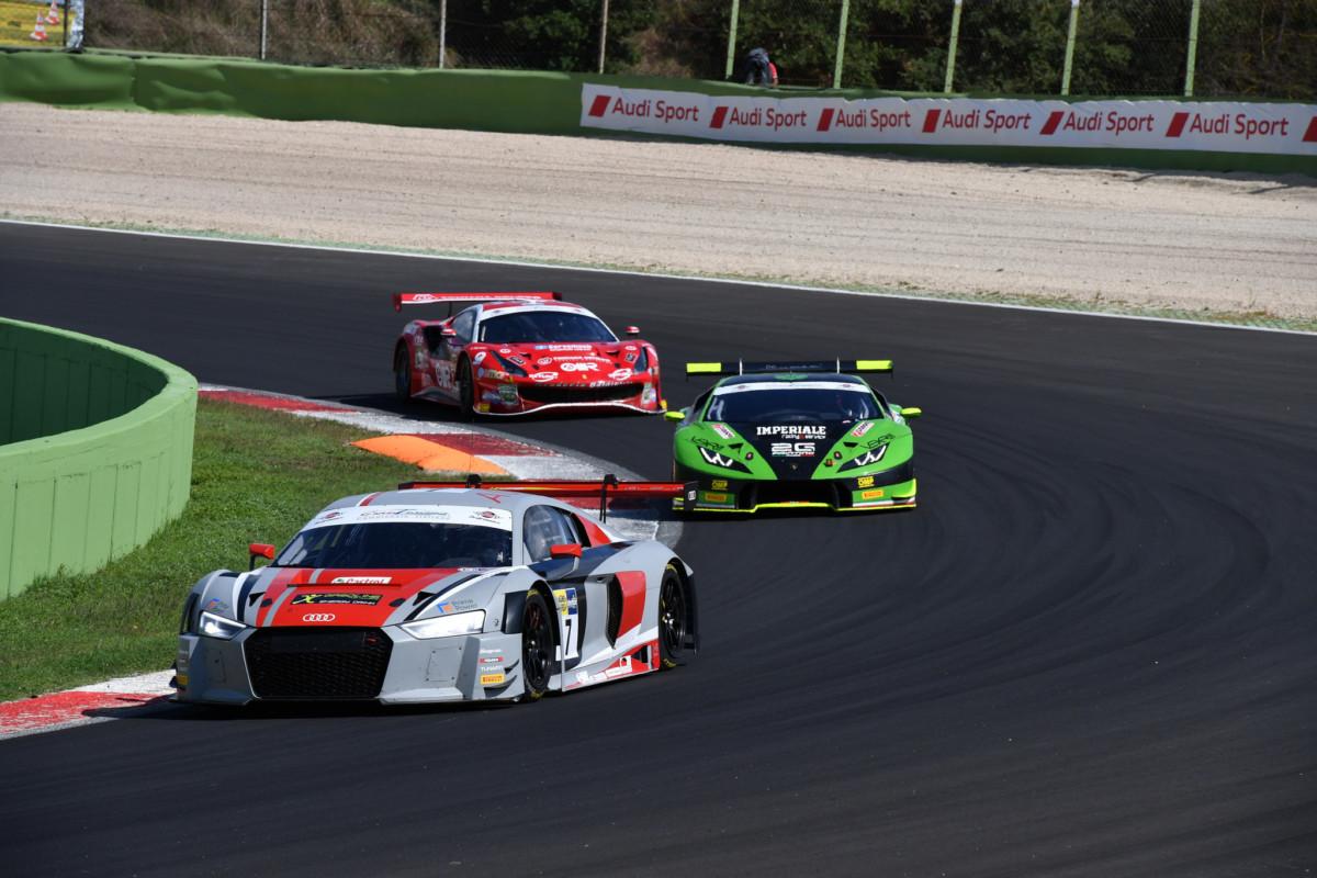 Drudi subito a podio in GT3 a Vallelunga con Audi