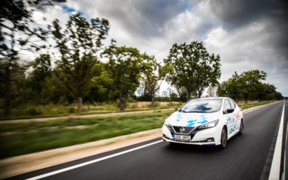 Nissan LEAF protagonista della Electric Marathon
