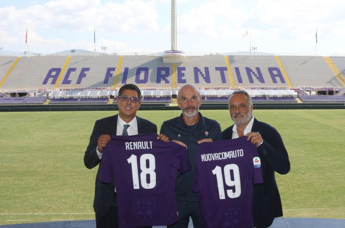 Renault NuovaComauto partner di ACF Fiorentina