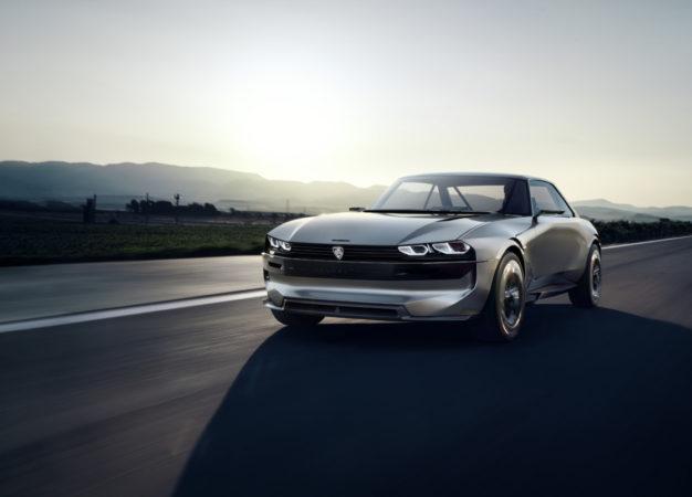 Peugeot e-LEGEND CONCEPT: #Unboring the future