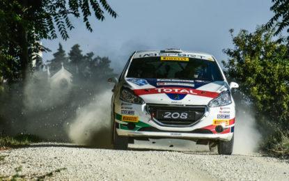 CIR Junior: De Tommaso-Ferrara campioni su Peugeot 208 R2B