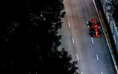 Singapore: meno rettilinei e più curve lente. Ma in Ferrari sono carichi