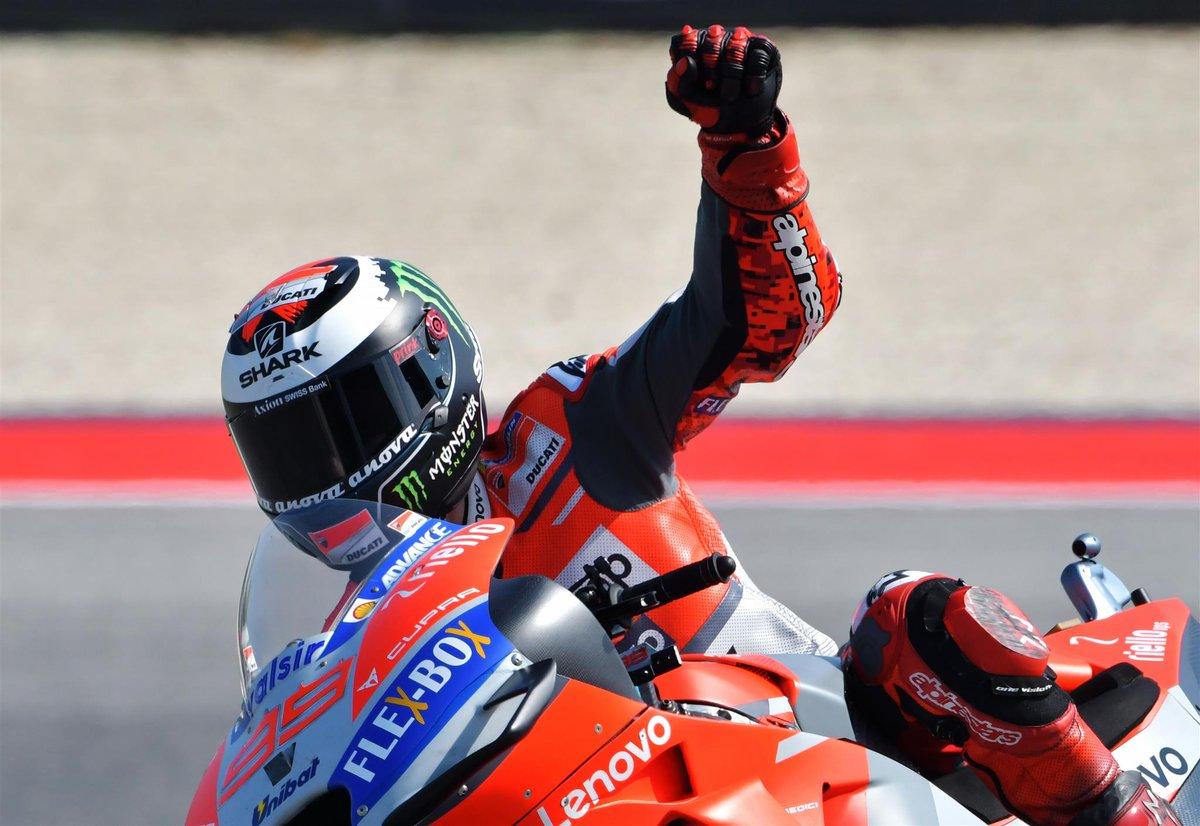 Aragon: in qualifica Lorenzo Dovi, poi Marquez. Rossi 18°