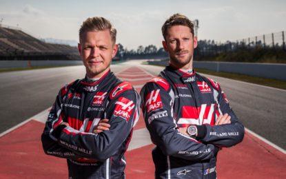 Haas F1 Team conferma Grosjean e Magnussen per il 2019
