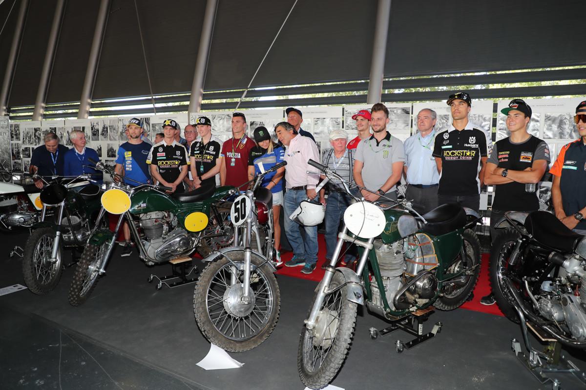 """Imola: inaugurata la mostra """"1948-1998 / 50 anni di motocross"""""""