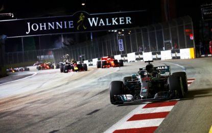 Hamilton su Verstappen e Vettel: a Singapore vince la motivazione