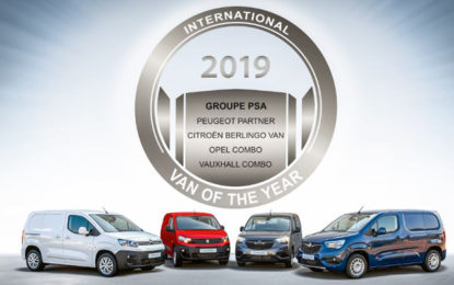 International Van Of The Year a Groupe PSA