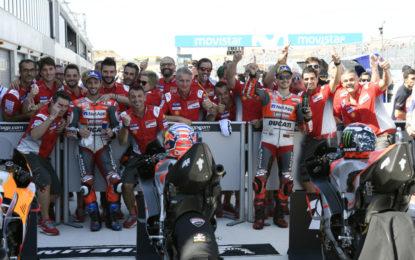 Splendida doppietta Ducati in qualifica ad Aragon