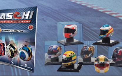 Caschi F1: la passione batte in testa. Ora anche in edicola!