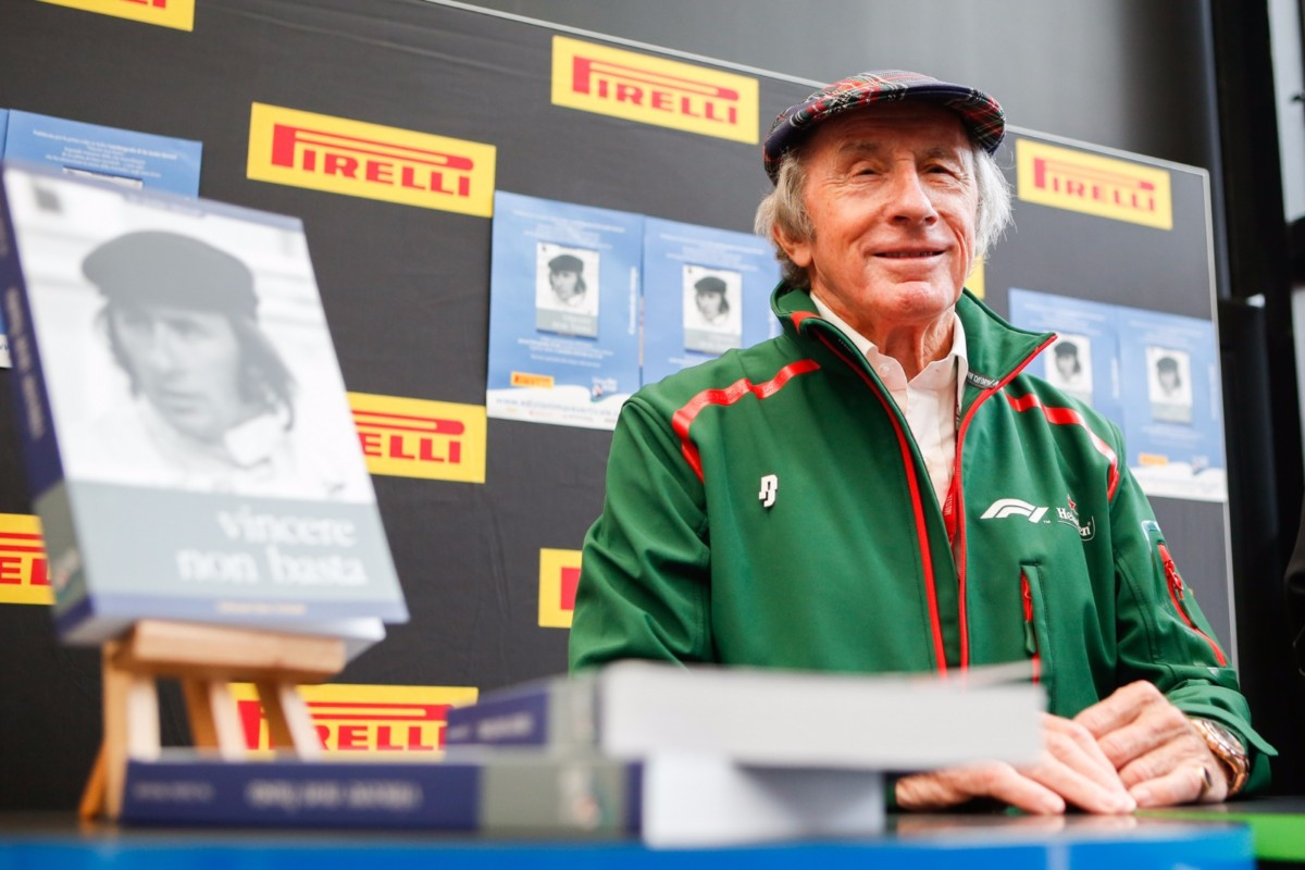 Sir Jackie Stewart: l'autobiografia anche in italiano