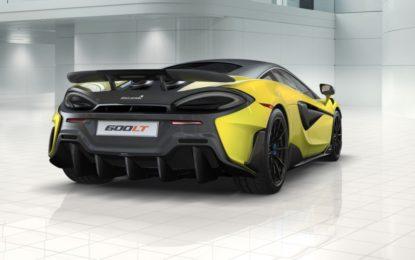 La McLaren 600LT perfetta con il configuratore digitale