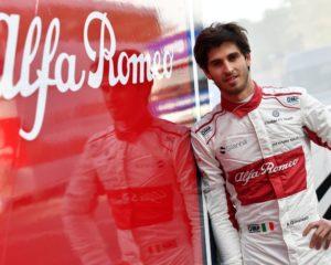 Dal 2019 Antonio Giovinazzi titolare Alfa Romeo Sauber F1 Team