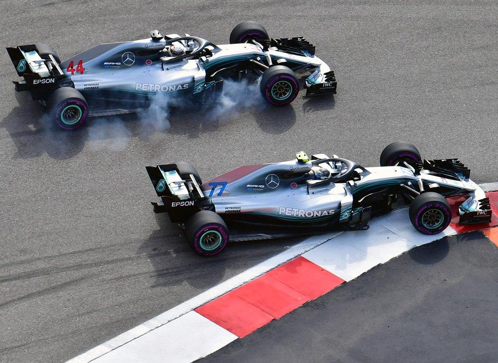 Russia: doppietta Mercedes davanti alle Ferrari. Il gap sale a 50 punti