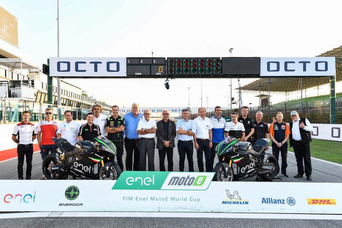 Dal 2019 la MotoE: a Misano presentati i team