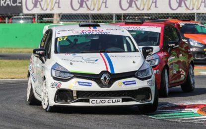 A Imola la volata finale della Clio Cup Italia