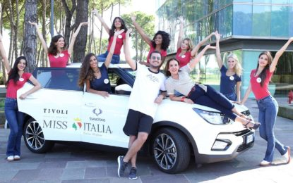 SsangYong Tivoli auto ufficiale di Miss Italia 2018