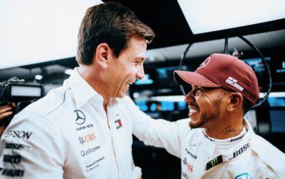 """Wolff: """"Il calendario F1? Non più di 16 GP"""""""