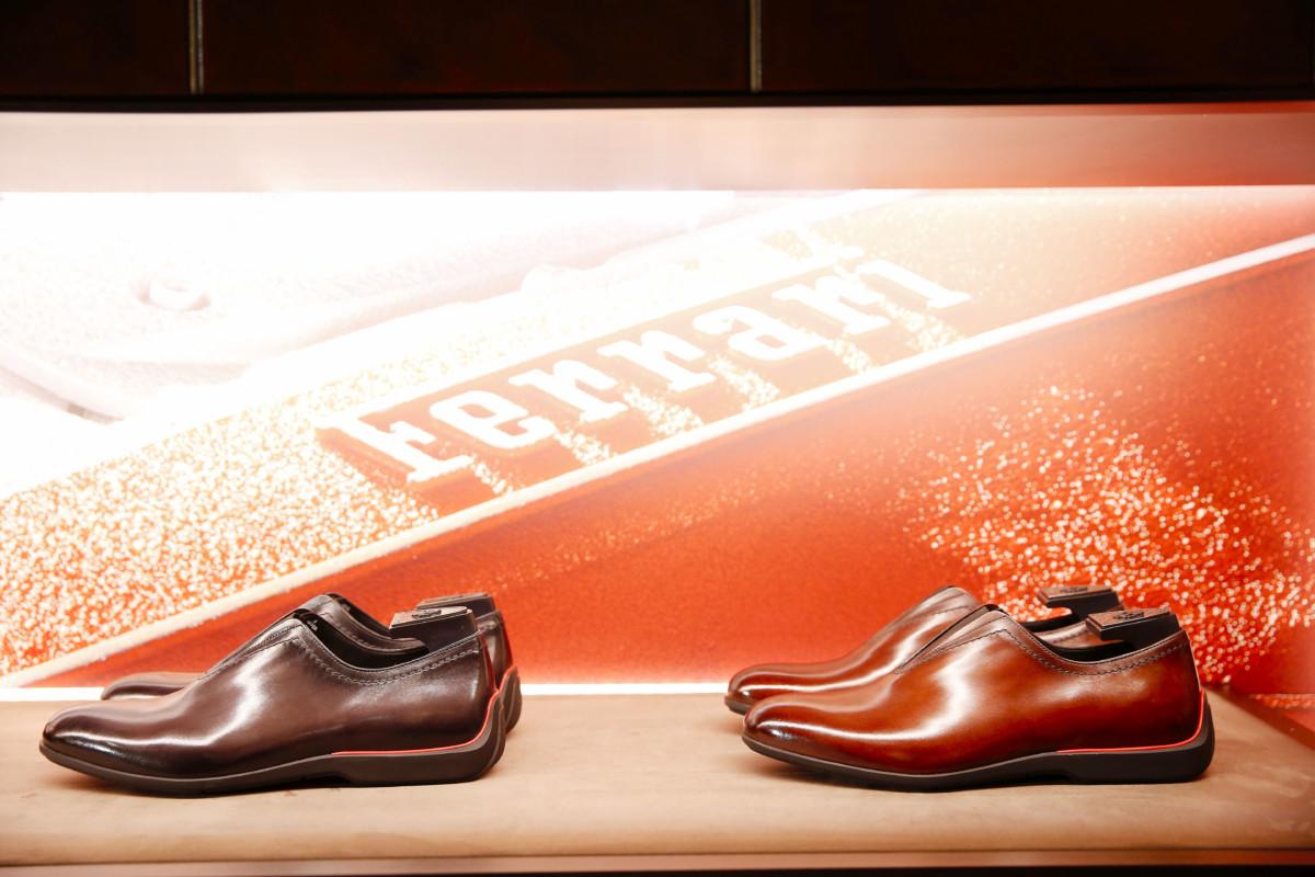 Berluti e Ferrari: una collezione di scarpe esclusiva