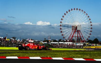 Ferrari in Giappone per la prova dell'otto