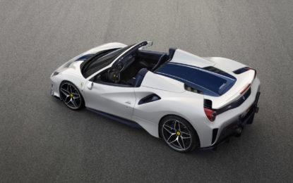 Ferrari 488 Pista Spider: la cabrio più performante di sempre