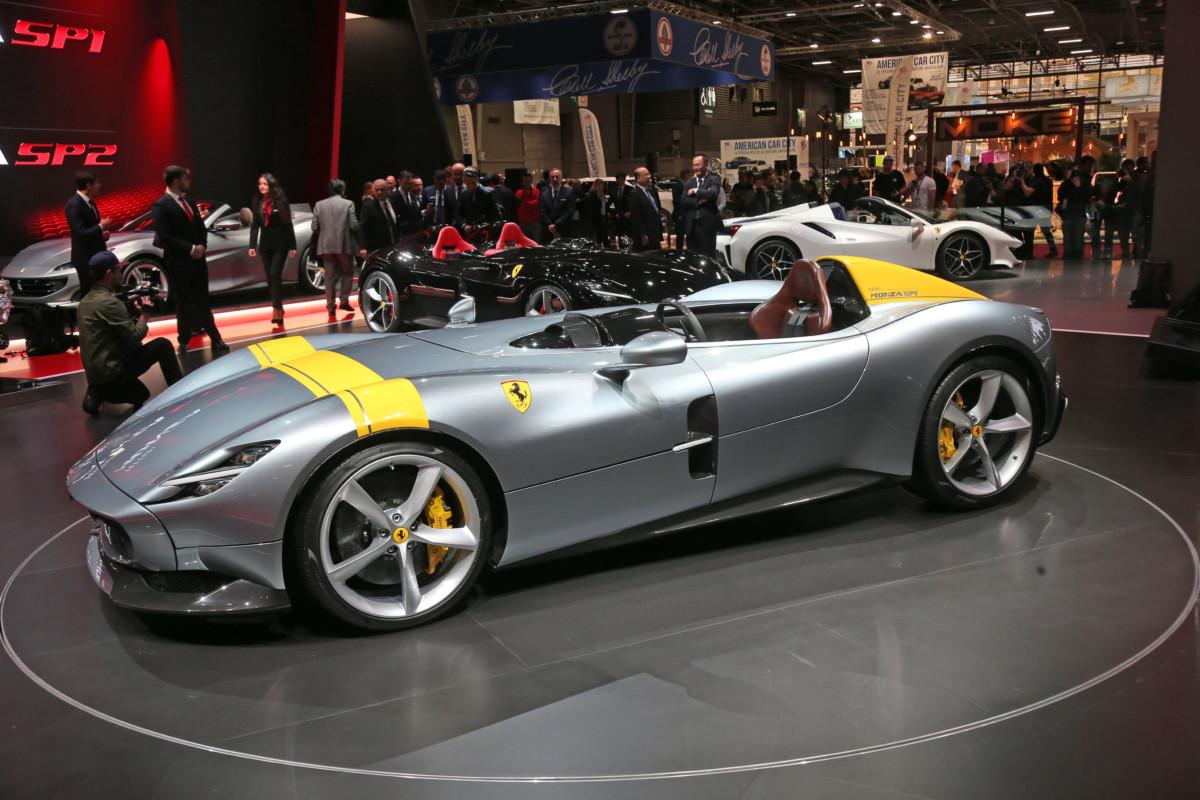 Pirelli P Zero su misura per la Ferrari Monza