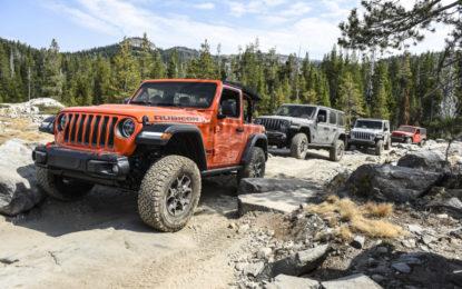 Nuova Jeep Wrangler Rubicon al Rubicon Trail