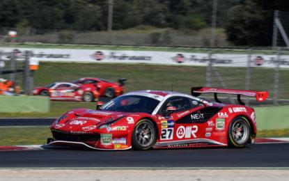 Italiano GT: cinque Ferrari in pista a Monza