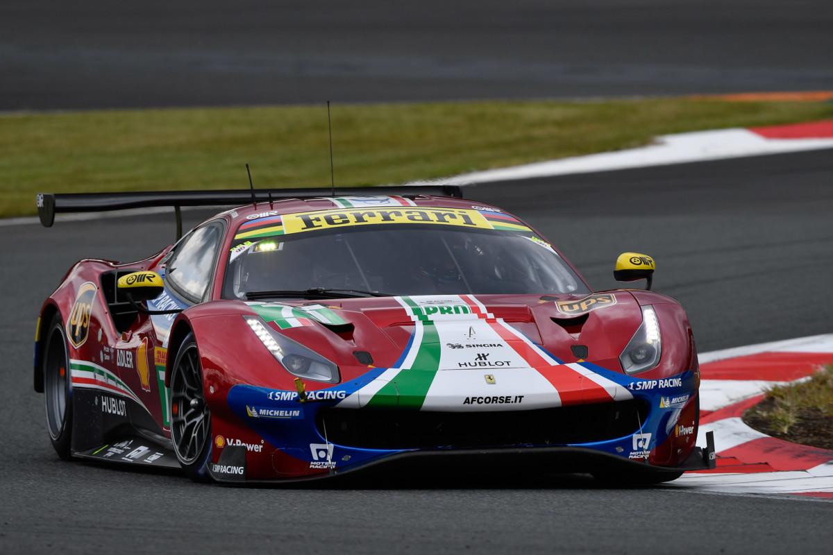 WEC: terza fila per la Ferrari al Fuji