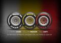 Gamma slick Pirelli 2019: tre colori ma più mescole