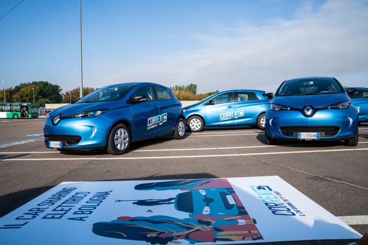 """""""Corrente"""": a Bologna il car sharing 100% elettrico"""