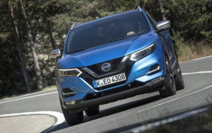 Nissan Qashqai con nuovo motore benzina 1.3
