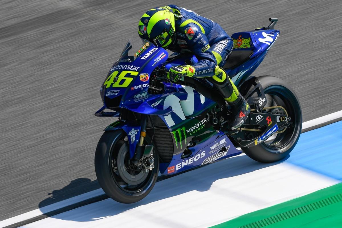 """Rossi: """"Questa Yamaha è un po' come l'Inter!"""""""