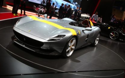 Dall'unione di due miti la Ferrari Monza
