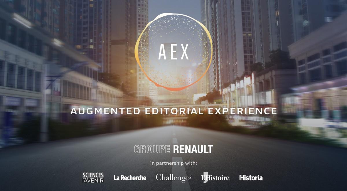 Renault AEX: il futuro di mobilità e media