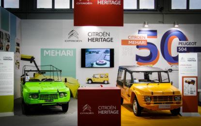 Citroën Méhari: 50 anni a Padova, con due auto e due libri speciali