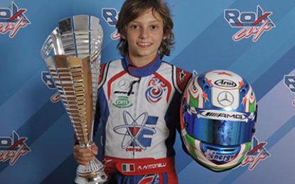 Andrea Kimi Antonelli in OKJ con Rosberg Racing