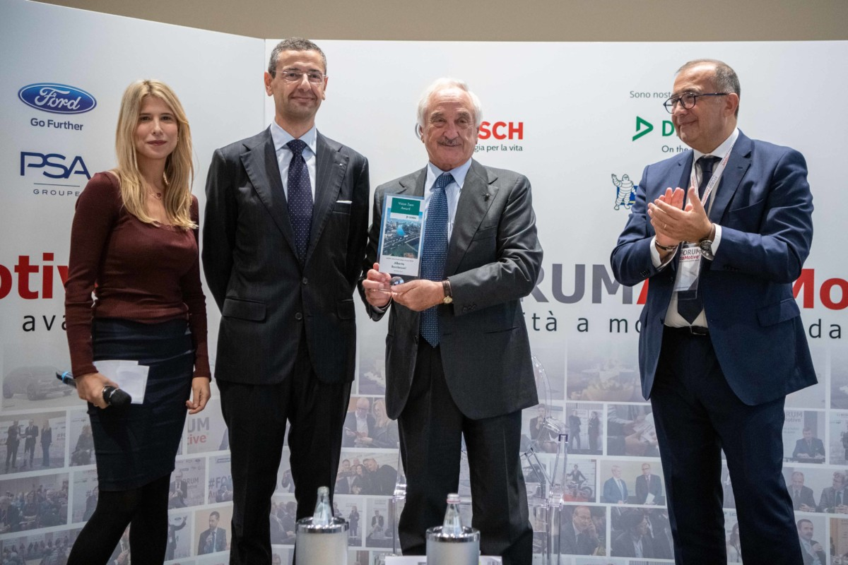 Al presidente di Brembo Bombassei il Road Safety Award