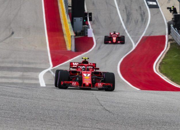 USA: prima fila per Raikkonen, con Vettel che scatterà 5°