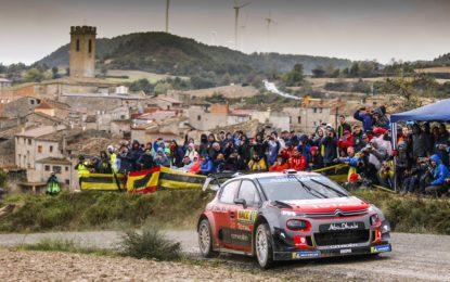 WRC: Loeb, Elena e Citroen vincono il Rally di Spagna